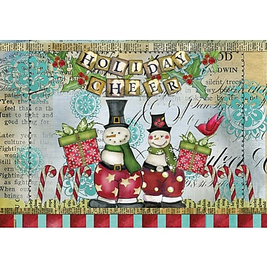 LANG® Artisan Snowman Friends Petite Christmas Cards
