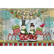 LANG® Artisan Snowman Friends Petite Christmas Cards