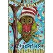 LANG® Artisan Holiday Owl Petite Christmas Cards