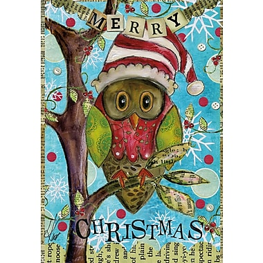 LANG® Artisan Holiday Owl Petite Christmas Cards
