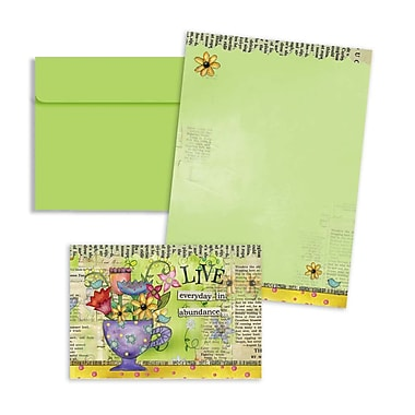 LANG® 3 1/2in. x 5in. 12/Pack Color My World Petite Note Cards