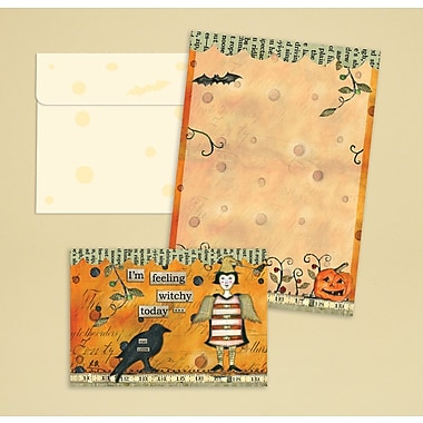 LANG® 3 1/2in. x 5in. 12/Pack Feeling Witchy Petite Note Cards