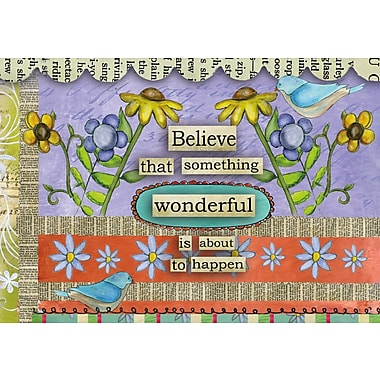 LANG® 3 1/2in. x 5in. 12/Pack Believe Petite Note Cards