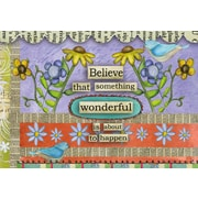 """LANG® 3 1/2"""" x 5"""" 12/Pack Believe Petite Note Cards"""