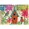 LANG® 3 1/2in. x 5in. 12/Pack Garden Birdhouse Petite Note Cards