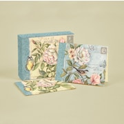 """LANG® 4"""" x 5 1/4"""" 12/Pack Cottage Bird Deluxe Note Cards, 12/Set"""