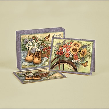 LANG® 4in. x 5 1/4in. 12/Pack Heart & Home Deluxe Note Cards, 12/Set