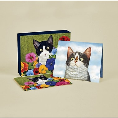 LANG® 4in. x 5 1/4in. 12/Pack American Cat Deluxe Note Cards, 12/Set