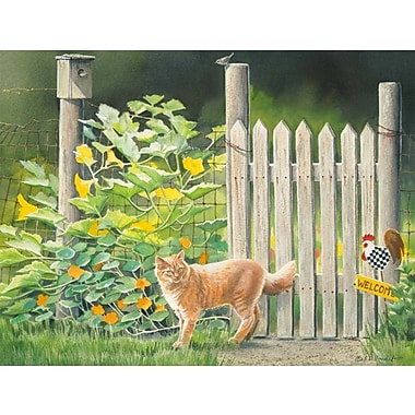 LANG® 4in. x 5 1/4in. 12/Pack Garden Cats Deluxe Note Cards, 12/Set