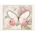 LANG® 4in. x 5 1/4in. 12/Pack Carte Postale Butterflies Deluxe Note Cards, 12/Set