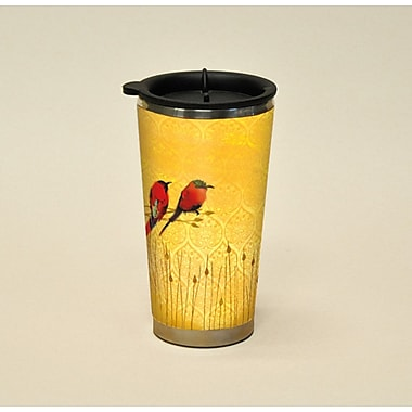 LANG® Artisan Garden of Plumes Bee Eaters 16 oz. Travel Mug
