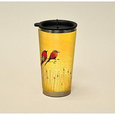 LANG® Artisan Garden of Plumes Bee Eaters 16 oz. Travel Mug
