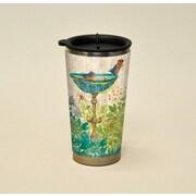 LANG® Artisan Garden Birdhouse 16 oz. Travel Mug