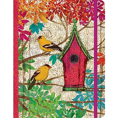 LANG® Writing Journal, Garden Birdhouse