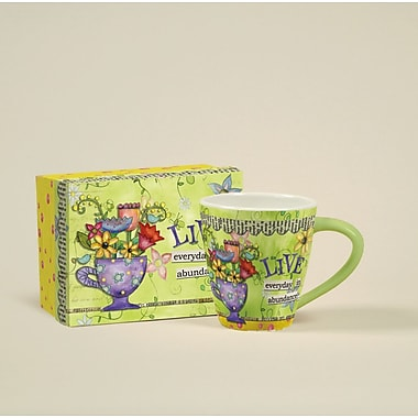 LANG® Artisian Color My World Abundance 17 oz. Cafe Mug