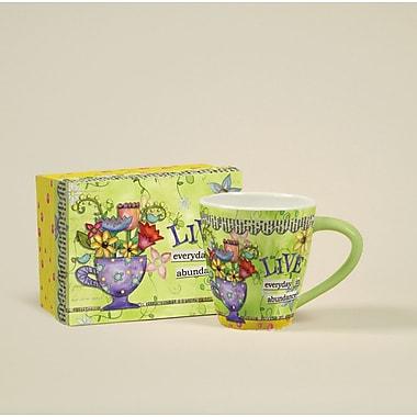 LANG® Artisian Color My World Abundance 17 oz. Cafe Mug