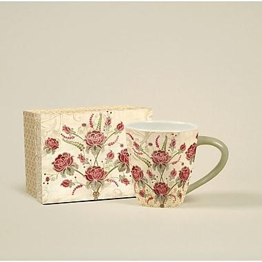 LANG® Artisian Elegance Roses 17 oz. Cafe Mug