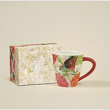 LANG® Artisian Garden Birdhouse 17 oz. Cafe Mug