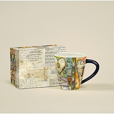 LANG® Artisian Key To My Heart 17 oz. Cafe Mug