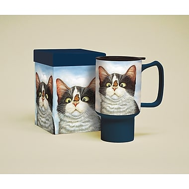 LANG® American Cat Hugo Hege 18 oz. Travel Mug