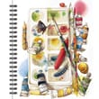 LANG® Painterly Spiral Bound Sketchbook, 11in. x 9in.