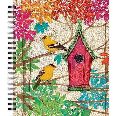 LANG® Garden Birdhouse Spiral Bound Sketchbook, 11in. x 9in.
