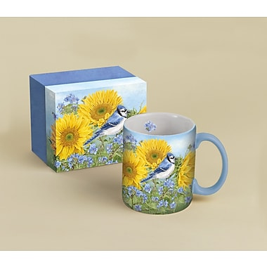 LANG® Summer Blue Jay 14 oz. Coffee Mug