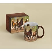 LANG® Horses in the Mist Taking Flight 14 oz. Coffee Mug
