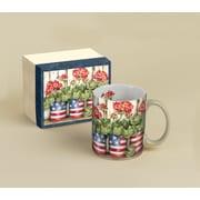LANG® Old Glory Patriotic Flowers 14 oz. Coffee Mug