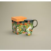 LANG® Cats in the Country Please Don't Eat The Zinnias 18 oz. Latte Mug