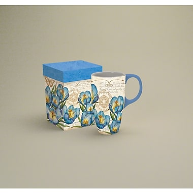 LANG® Blue Crocus 18 oz. Latte Mug