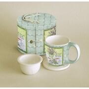 LANG® Lavender Tea 11 oz. Tea Mug Set