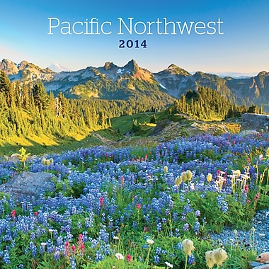 Avalanche® Pacific Northwest 2014 Wall Calendar, 12in. x 12in.
