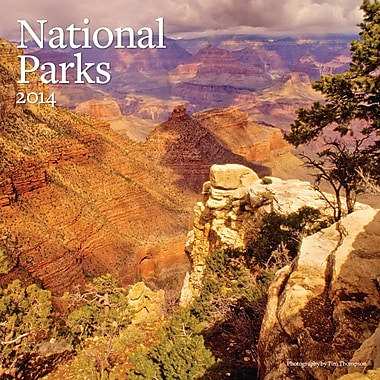 Avalanche® National Parks 2014 Wall Calendar, 12in. x 12in.