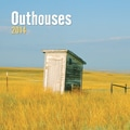 Avalanche® Outhouses 2014 Wall Calendar, 12in. x 12in.