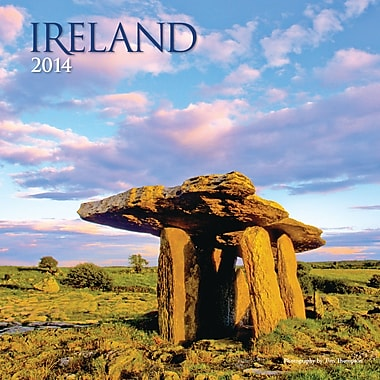 Avalanche® Ireland 2014 Wall Calendar, 12in. x 12in.