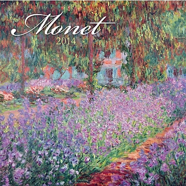 Avalanche® Monet 2014 Wall Calendar, 12in. x 12in.