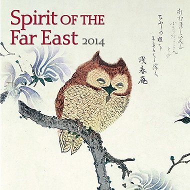 Avalanche® Spirit Of The Far East 2014 Wall Calendar, 12in. x 12in.