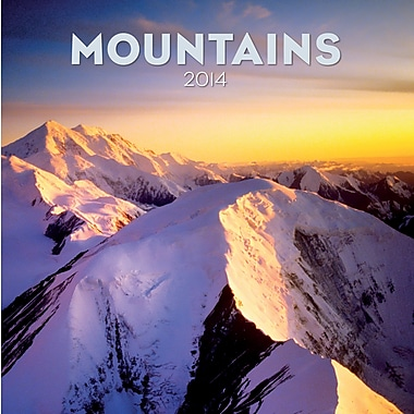 Avalanche® Mountains 2014 Wall Calendar, 12in. x 12in.