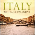 Avalanche® Italy 2014 Box Calendar, 5 1/4in. x 5 1/4in.