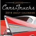 Avalanche® Cars And Trucks 2014 Box Calendar, 5 1/4in. x 5 1/4in.