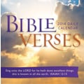 Avalanche® Bible Verses 2014 Box Calendar, 5 1/4in. x 5 1/4in.