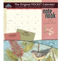 LANG® Avalanche Garden Birds 2014 Note Nook® Pocket Calendar, 13 1/4in. x 11 3/4in.