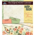 LANG® Avalanche Nature's Grace 2014 Note Nook® Pocket Calendar, 13 1/4in. x 11 3/4in.