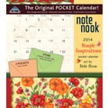 LANG® Avalanche Simple Inspirations 2014 Note Nook® Pocket Calendar, 13 1/4in. x 11 3/4in.