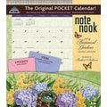 LANG® Avalanche Botanical Gardens 2014 Note Nook® Pocket Calendar, 13 1/4in. x 11 3/4in.