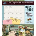 LANG® Avalanche Vintage Holidays 2014 Note Nook® Pocket Calendar, 13 1/4in. x 11 3/4in.