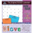 LANG® Avalanche Words Of Praise 2014 Note Nook® Pocket Calendar, 13 1/4in. x 11 3/4in.