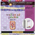 Avalanche® Words Of Praise Plan-It® Plus 2014 Calendar