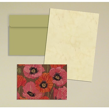 LANG® Avalanche 3 1/2in. x 5in. 12/Pack Blossomwood Petite Note Cards